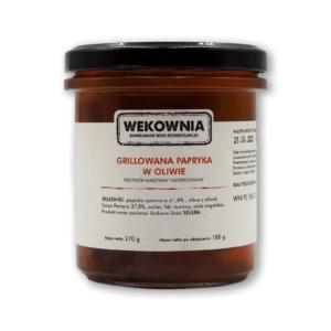 Grillowana papryka w oliwie 270g