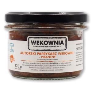 Autorski paprykarz Wekowni – ostry 170g