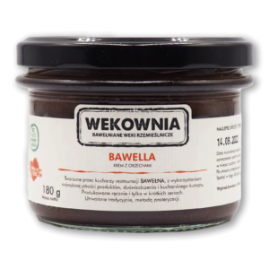 Bawella – krem z orzechami, pasteryzowany 180g